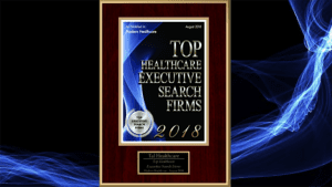 Tal Healthcare was honored to receive the award for being one of the Top Healthcare Executive Search Firms in the United States for 2018.