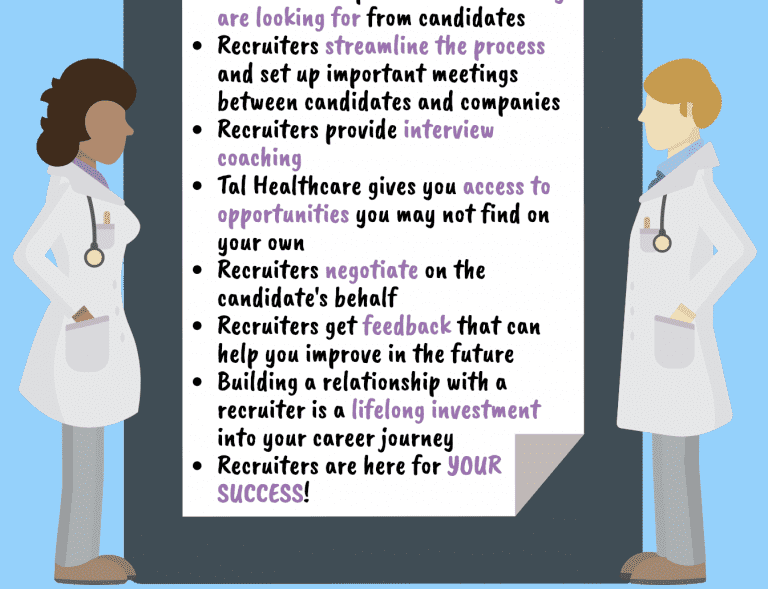 10 Reasons Why Physicians should work with a Recruiter 10 Reasons Why